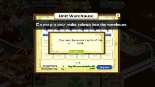 Social Empires Unit Warehouse