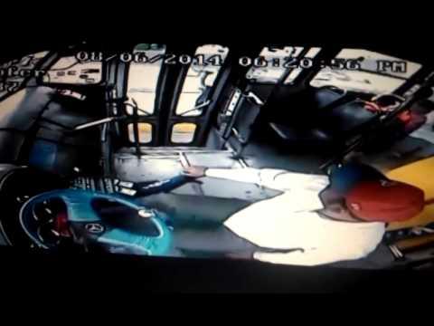 Chofer de transporte público frustra asalto a su unidad ruta 641