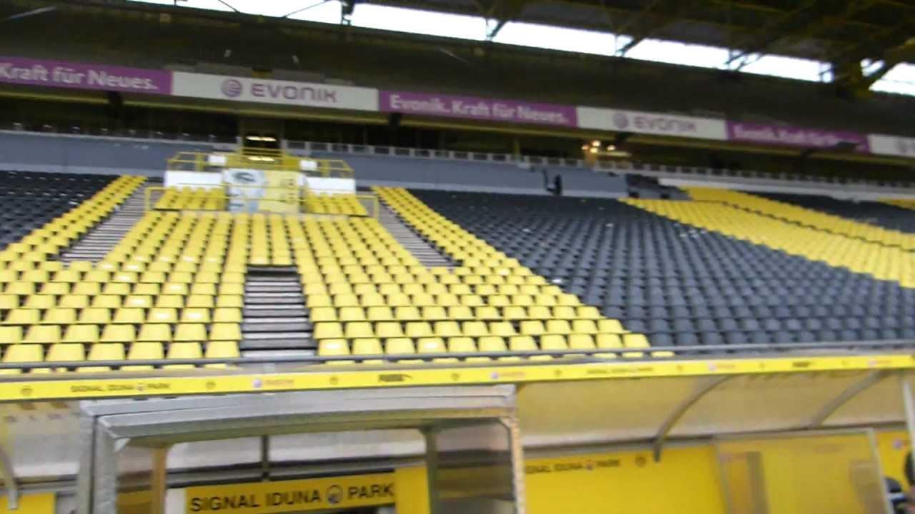 stadion borussia dortmund 2013 bvb youtube. Black Bedroom Furniture Sets. Home Design Ideas