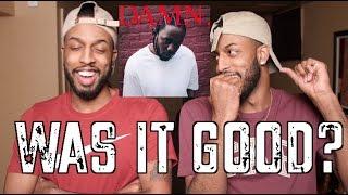 """KENDRICK LAMAR """"DAMN"""" REVIEW AND REACTION #MALLORYBROS 4K"""