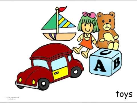 English Bedroom Vocabulary Flashcards For Children To