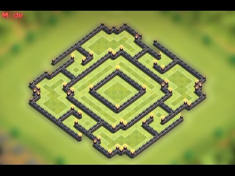 Clash of clans - TH9 Farming base (Immortal)