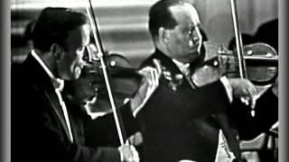 Bach Double Violin Concerto - Yehudi Menuhin And David Oistrakh.