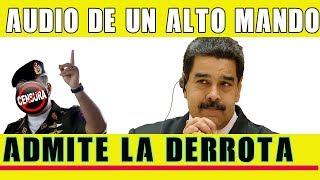 Se FILTRA Audio de general de Maduro