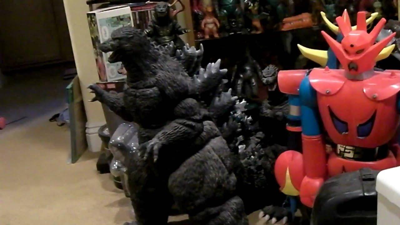 My Godzilla Toy Collection Vintage Vinyl Kaiju Bullmark M1 Bandai Popy Marusan Youtube
