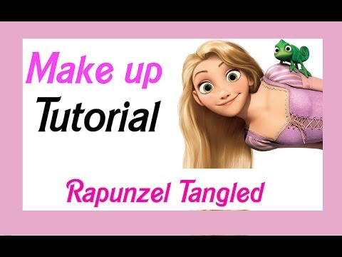 ♥Tangled Rapunzel Disney Princess Makeup Tutorial♥