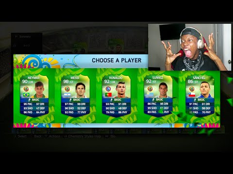 OMG THE WORLD CUP FUT DRAFT GAME MODE !!!
