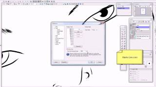 How To Change The Print Size View In Manga Studio
