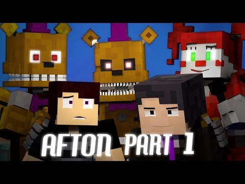 'BRINGING US HOME' FNAF 4 Minecraft Music Video | Afton - Part 1 | 3A Display (Song by TryHardNinja)