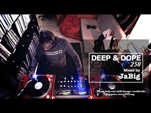 Deep Soulful Afro House Music Vinyl Mix by JaBig - DEEP & DOPE 250