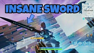 FUNNY DUO FILL GAME WITH *CHARLIE* & *NEW* INSANE SWORD | FORTNITE BATTLE ROYALE