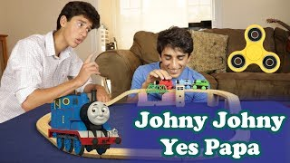 Johny Johny Yes Papa | Fidget Spinner, Trains and Toys | Nursery Rhymes for Children and Toddlers