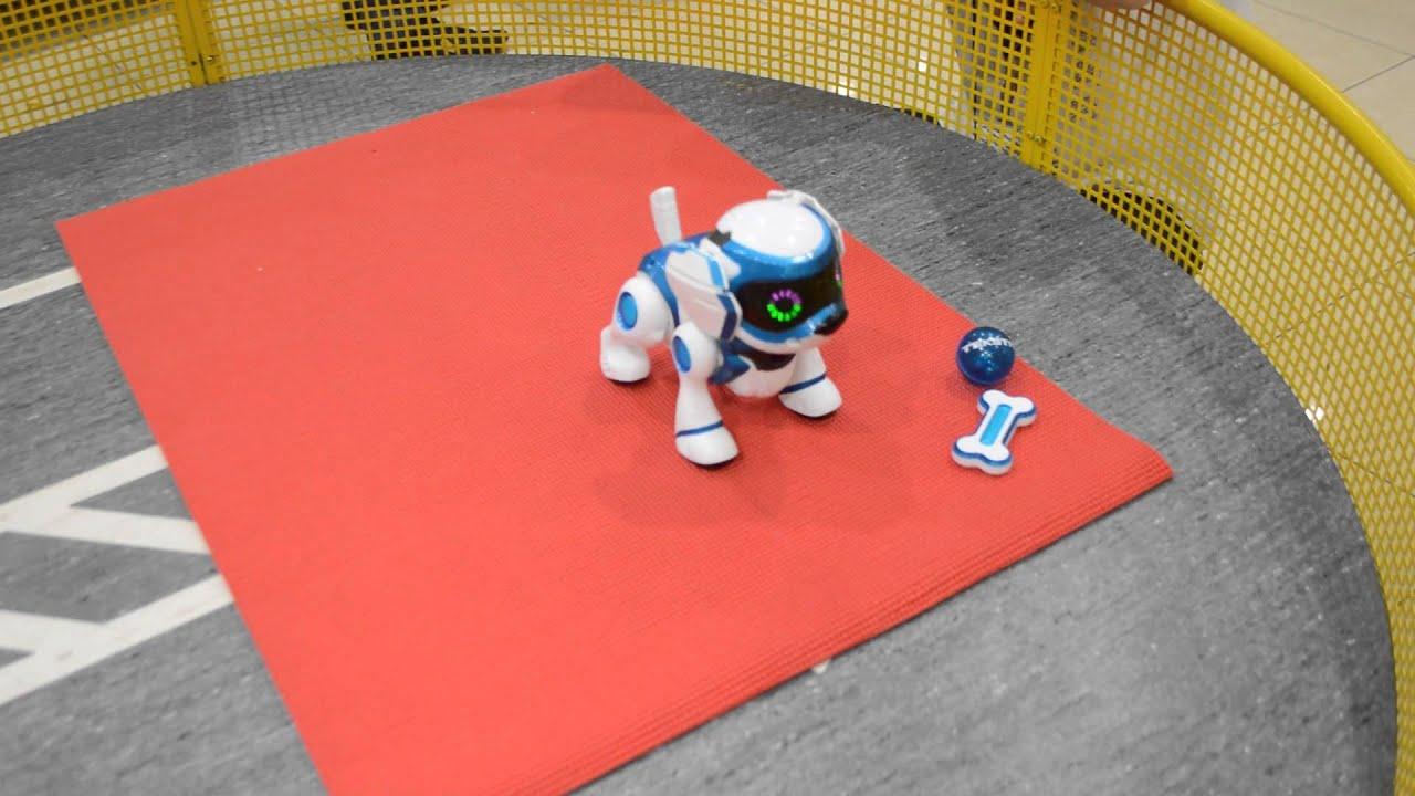 TEKSTA Интерактивный робот-щенок