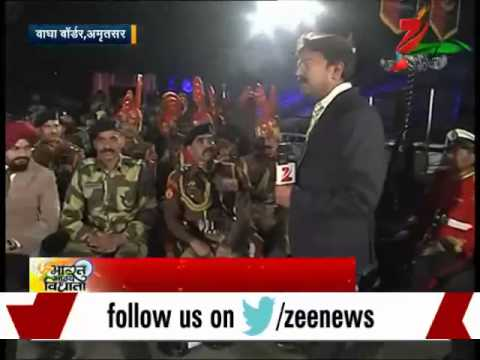 Bbv: Bsf Soldiers Celebrate Republic Day At Wagah Border, Amritsar video