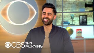 "Hasan Minhaj on ""Patriot Act,"" finding humor in ""feeling like an outsider"""