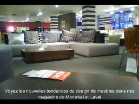 Meubles montr al et laval mariette clermont youtube for Don meuble montreal