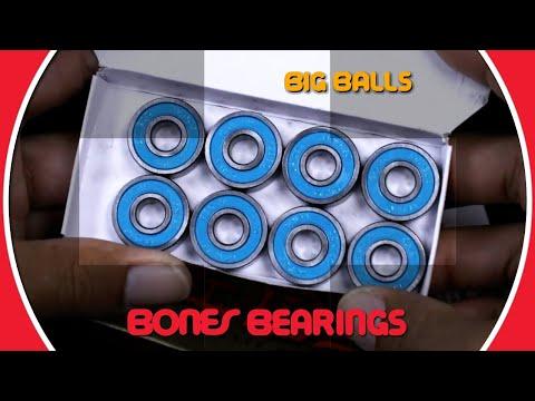 Bones Bearings BIG BALLS - Clip #2 Unboxing Big Balls!
