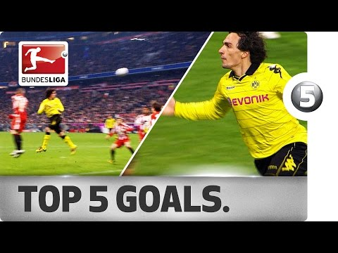 Mats Hummels - Top 5 Goals