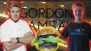Eating At GORDON RAMSAY'S RESTAURANT in Las Vegas!