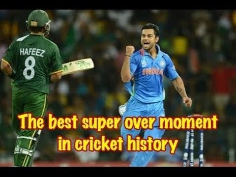 BEST SUPER OVER MATCH in Cricket History