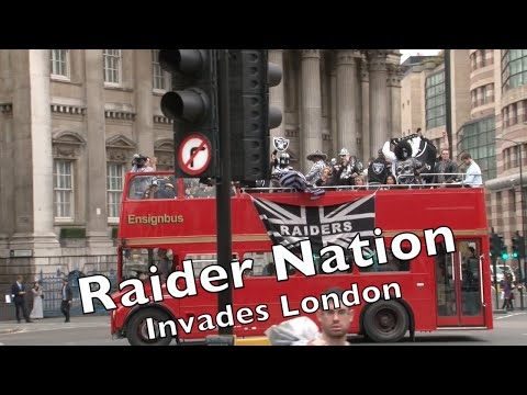 Raider Nation Takes Over London 2014