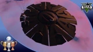 GTA 5 -  Flying UFO #2 Easter Egg Over Fort Zancudo - Illuminati Alien UFO Easter Eggs [100%]