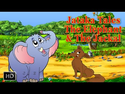 Jataka Tales - Jackal Stories - Moral Stories for Kids - The Elephant and the Jackal