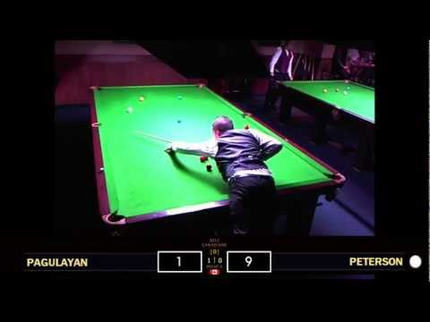 Alex Pagulayan vs. Robin Peterson - RR | 2012 Canadian Snooker Championships (pt.1)