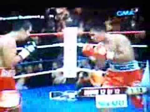 October 7, 2007 Pacquiao vs Barerra RND12