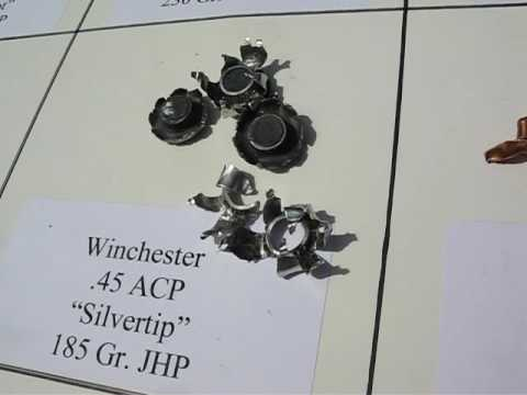 AT1 - .45 ACP - Winchester Silvertip 185 Gr JHP