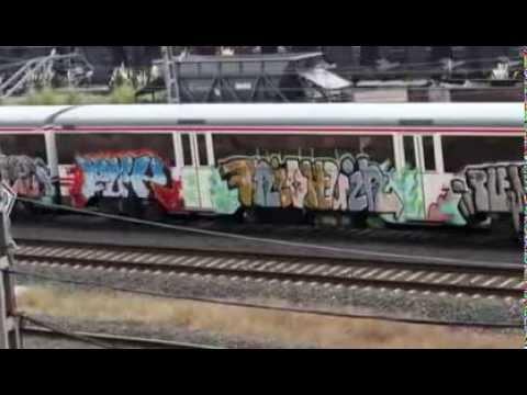 26.000 euros al día para limpiar grafitis