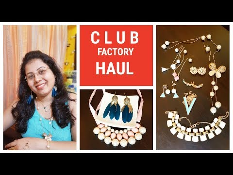 CLUB FACTORY HAUL & REVIEW | Online Shopping in India | Jewellery & Accessory | Cheap & Good Quality