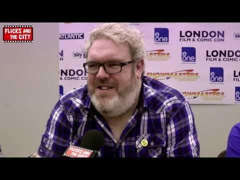 Game of Thrones Red Wedding & Seasons 3 & 4 Hodor Interview - Kristian Nairn
