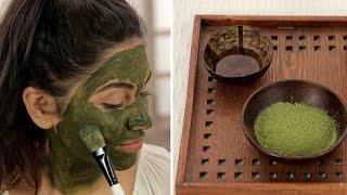 DIY Matcha Green Tea Face Mask For Youthful Healthy Skin | Japanese Beauty Secrets