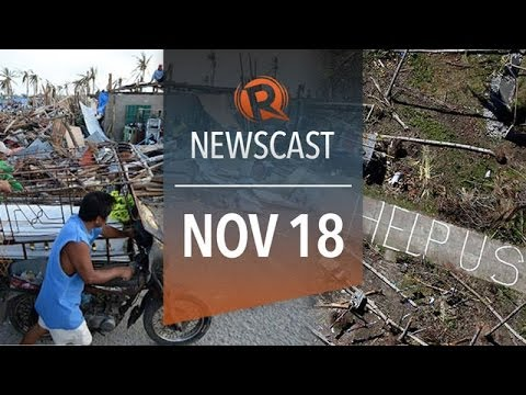 Rappler Newscast: Haiyan damage, Power restoration, Aquino, Romualdez trade barbs