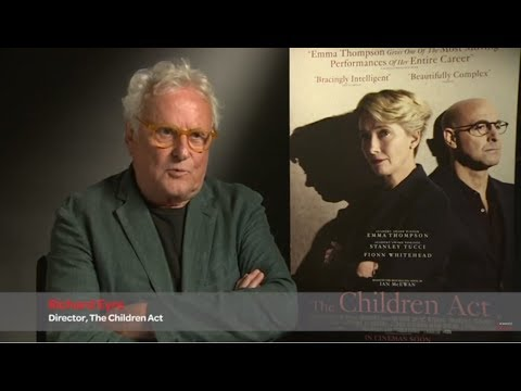 "Richard Eyre Discusses Emma Thompson's ""killer Combination"" For The Children Act"