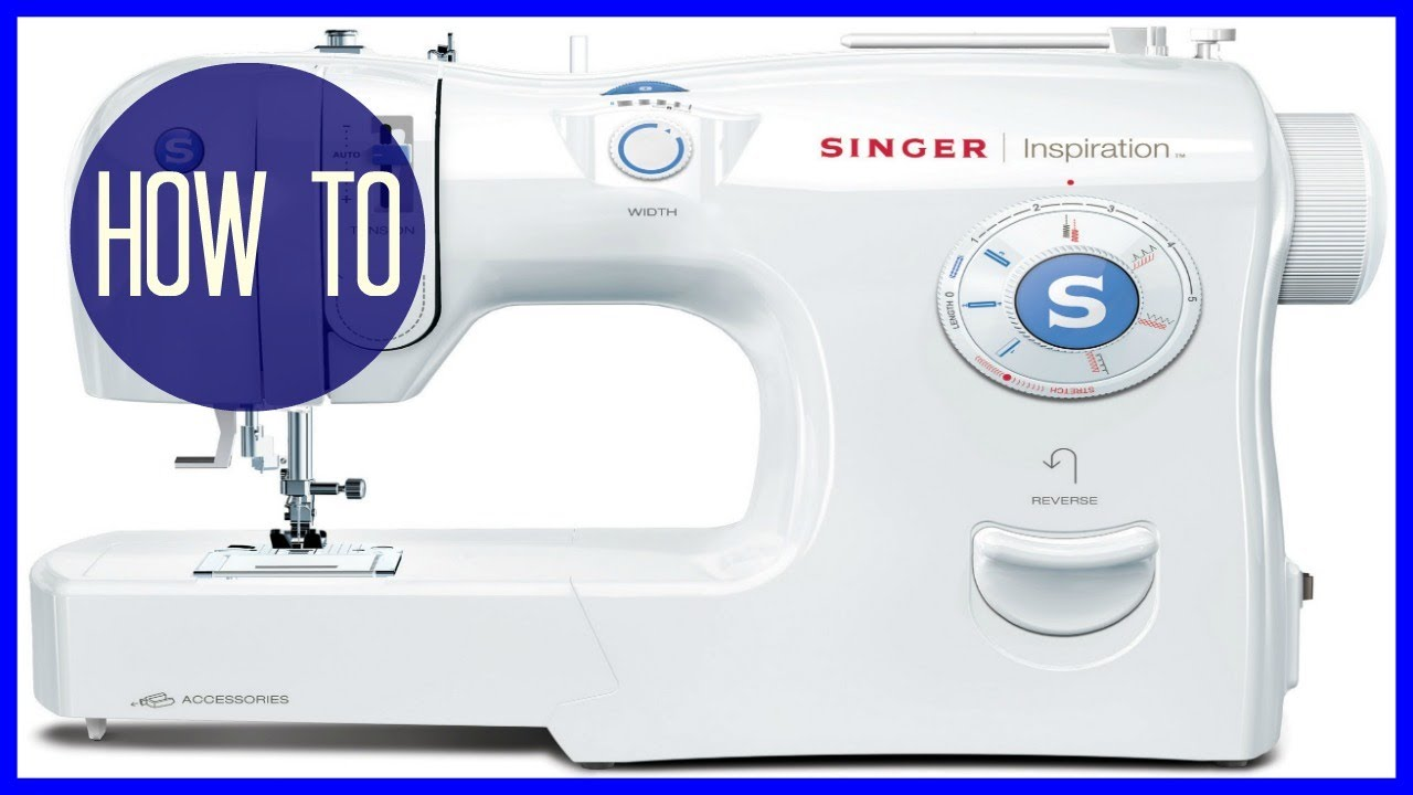 How To Thread A Sewing Machine  Singer Inspiration