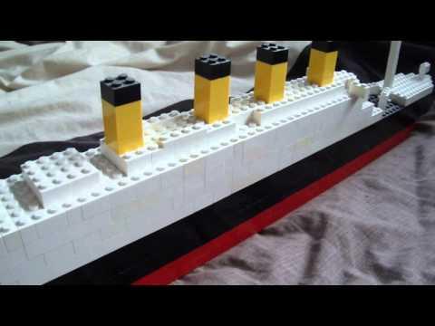 Big lego Titanic model