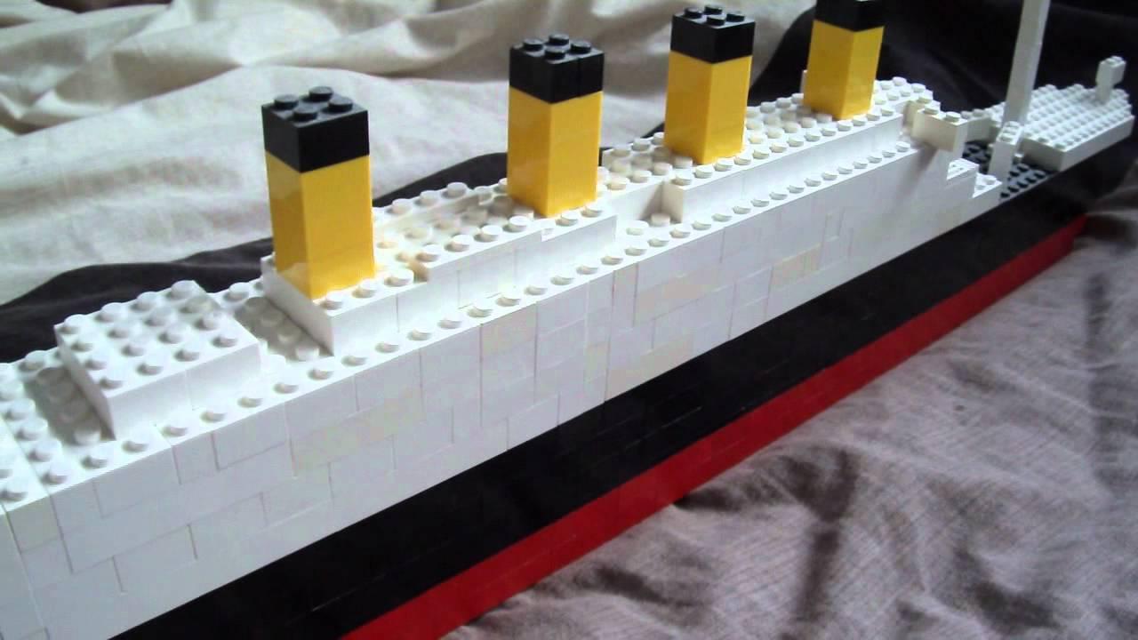 Toys R Us Titanic Model : Big lego titanic model youtube