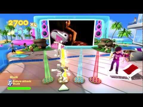 Dance Paradise 720P gameplay Akon (Bellydancer  Bananza) Xbox...