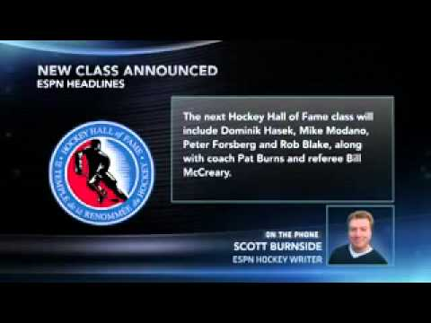 Hockey HOF Announces Class Of '14