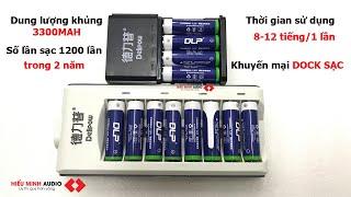 Pin sạc dung lượng cao 3300mah cho micro không dây  về hàng có khuyến mại.LH:0919182233/0389840238