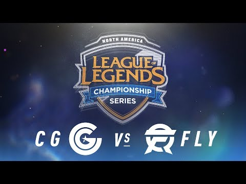 CG vs. FLY - Week 5 Day 1 | NA LCS Spring Split | Clutch Gaming vs. FlyQuest (2018)