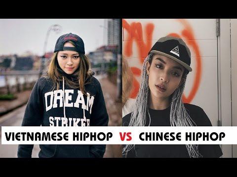 HIPHOP/RAP: Vietnam vs China(Mandarin) |