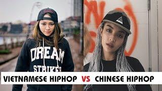 HIPHOP/RAP: Vietnam vs China(Mandarin)