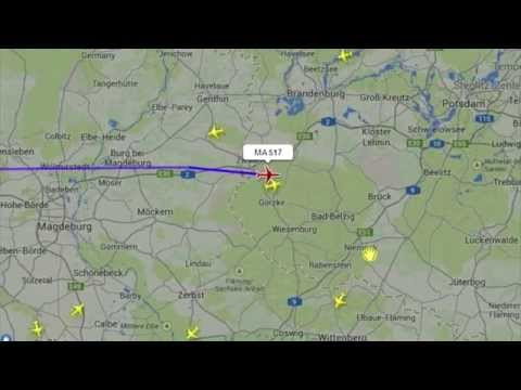 MH17 / MAS 17 MALAYSIA AIRLINE CRASH RADAR MAP (FULL)