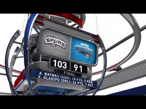[HD] San Antonio Spurs vs Orlando Magic | Full Highlights | April 1, 2015 | NBA Season 2014/15