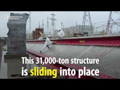 Chernobyl Containment Shield Begins Moving Into Place