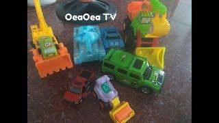 Đồ chơi ôtô xe cẩu khổng lồ, xe tăng, xe bán tải