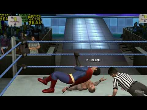 WWE SmackDown vs Raw 2010 'Superman vs Randy Orton' TRUE-HD QUALITY